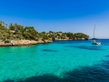 Spanien Mallorca Mittelmeer Bucht Cala Ferrera