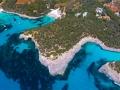 Naturpark Mondrago Luftaufnahme