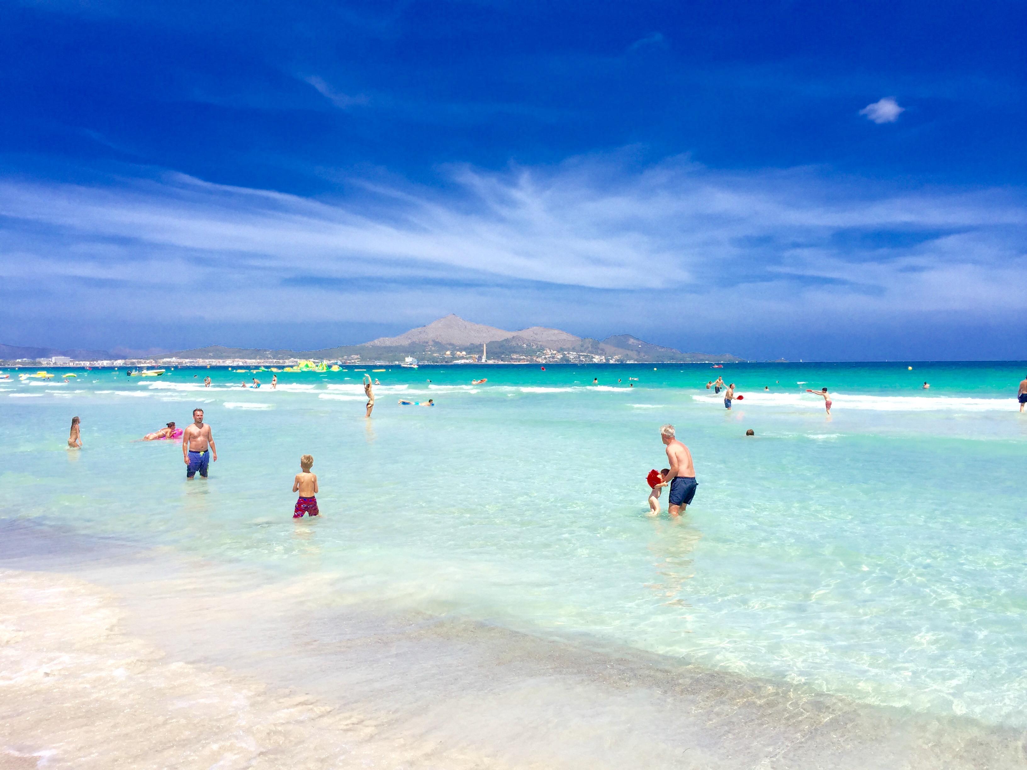 Strand-Wetter: Viel Sonne und bis zu 30 Grad auf Mallorca