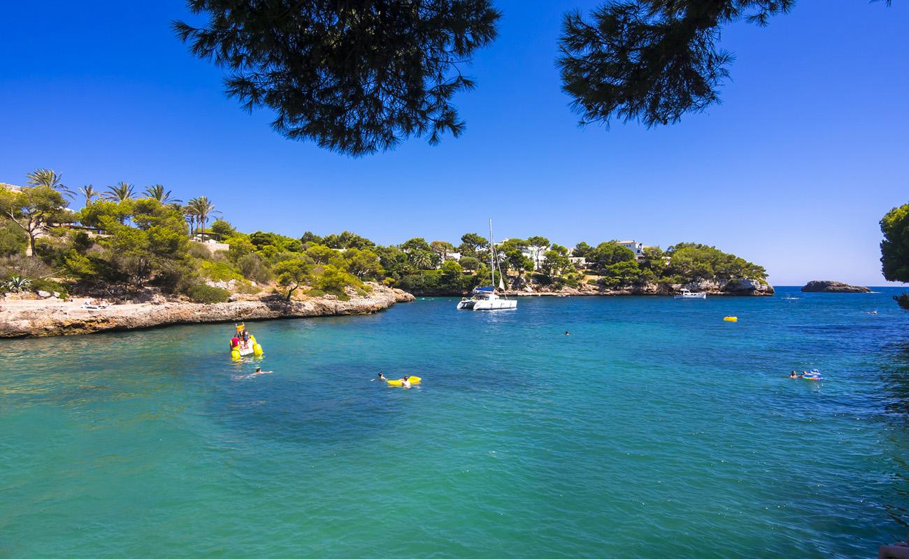 Die Bucht von Cala Ferrera,Cala Ferrera, Mallorca, Majorca, Balearen, Spanien