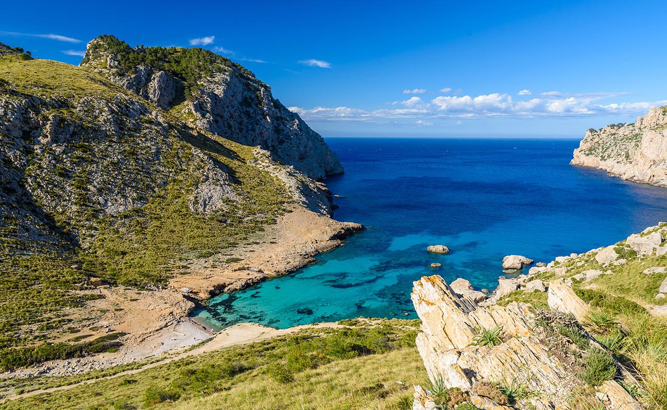 Cala Figuera im Norden Mallorca