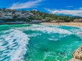 Mediterranean Sea Bay Majorca Cala Romantica Spain