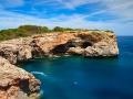 Coast at Cala Sa Nau