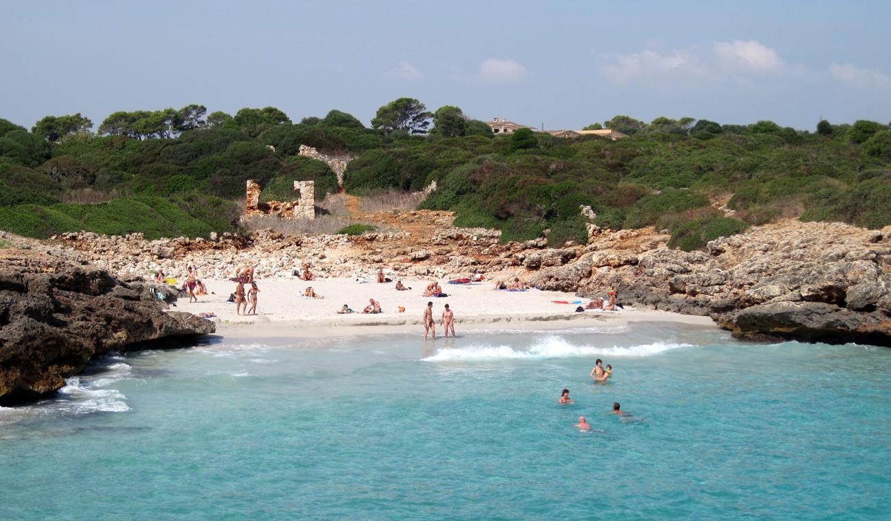 Ein ganz besonderer Strand: Caló d'en Rafelino