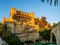 Palau de l'Almudaina in Palma de Mallorca