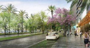 Konzept für Paseo Marítimo