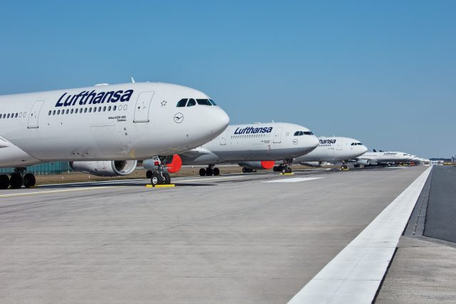 Lufthansa hebt auch ab Juni wieder nach Mallorca ab / Bild Lufthansa