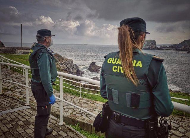 Guardia Civil Kontrolle Küste