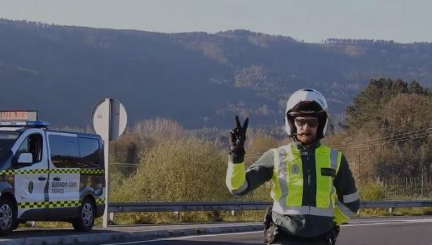 Guardia Civil Straßenkontrolle