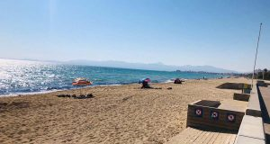 Entspannt an der Playa de Palma