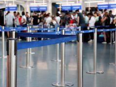 Grenzkontrolle Flughafen