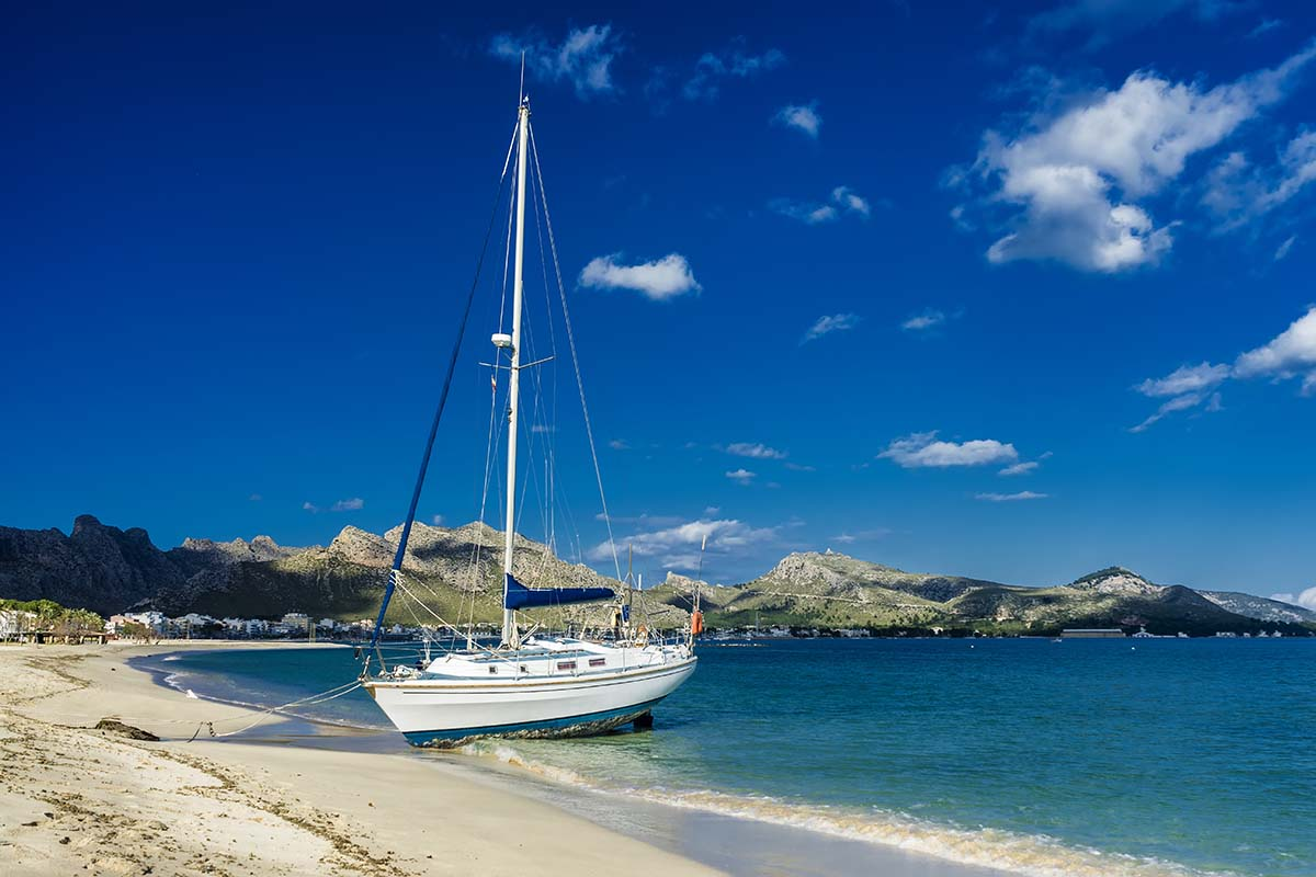 Puerto Pollensa toller Strand