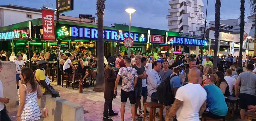 Partyalarm in der Bierstraße