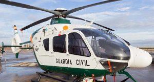 Wanderer von Hubschrauber der Guardia Civil gerettet