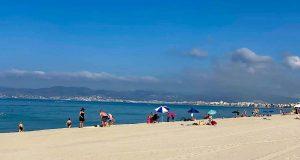 Leere Strände auf Mallorca
