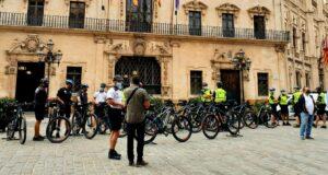 Fahrradpolizisten