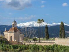 Schnee auf den Bergen Mallorcas