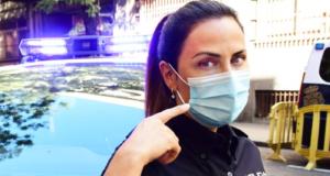 Policia Nacional Maske