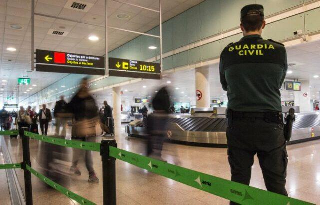 Guardia Civil Flughafen