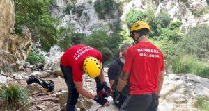 Verletzter Wanderer gerettet