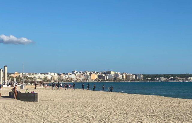 Playa de Palma wird geräumt