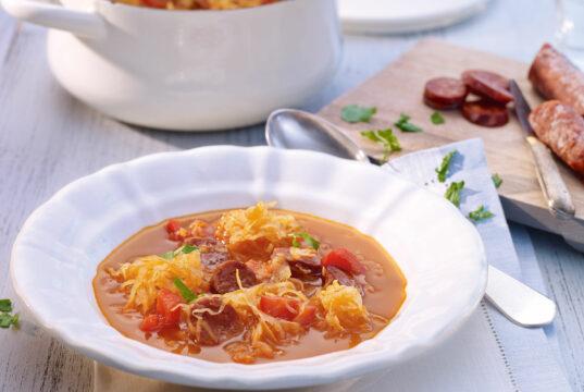 Chorizo-Kraut-Eintopf