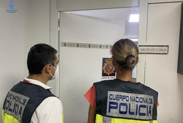 Policia Nacional verhaftet Räuber
