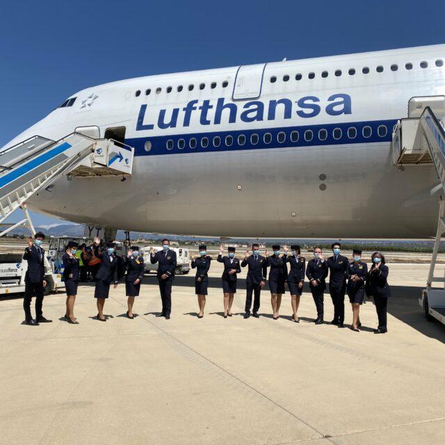 Lufthansa-Jumbo-Jet