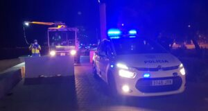 Policia Local Playa de Palmna Nacht