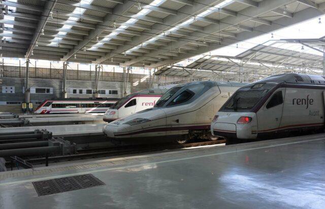 Mit dem Zug nach Mallorca